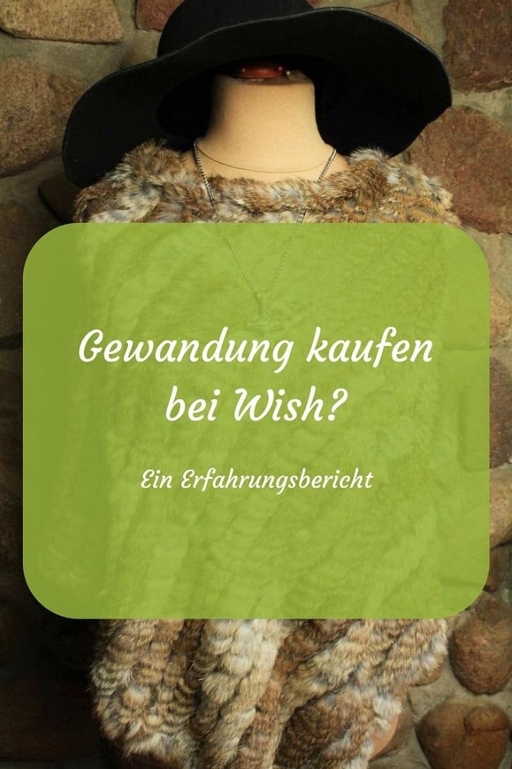 Gewandung kaufen bei Wish? - Möhrchen und das Mittelalter